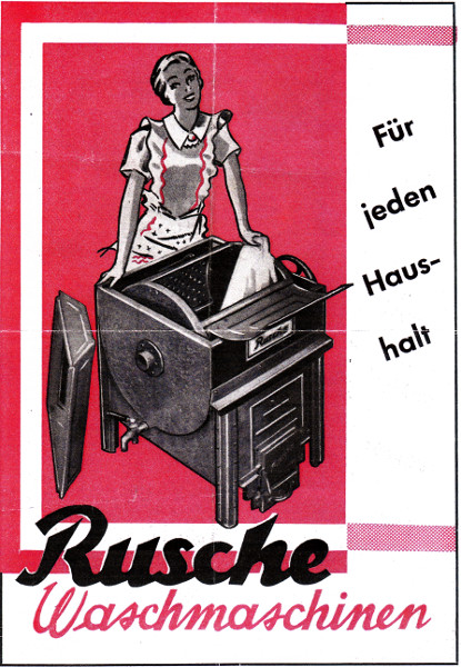 Rusche Waschmaschinen für jeden Haushalt